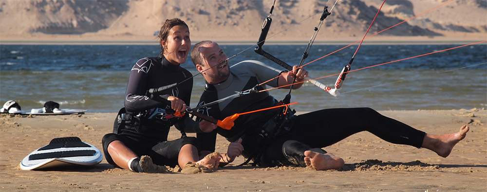 Kitesurfreisbureau Outbound Kitetravel , Eva & Ferry brengen je naar de beste spots over de hele wereld.