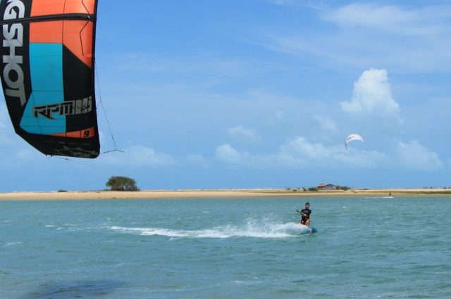 "Ilha do Guajiru, Brazilië - ""White wind resort"""
