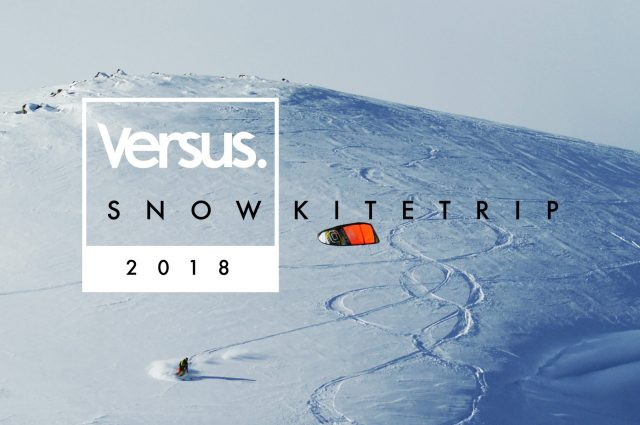 Foto verus snowkitetrip