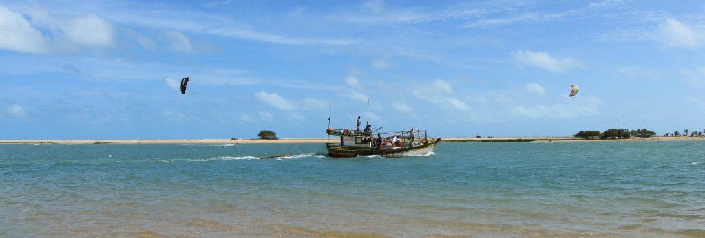Foto Ilha do Guajirú lagune