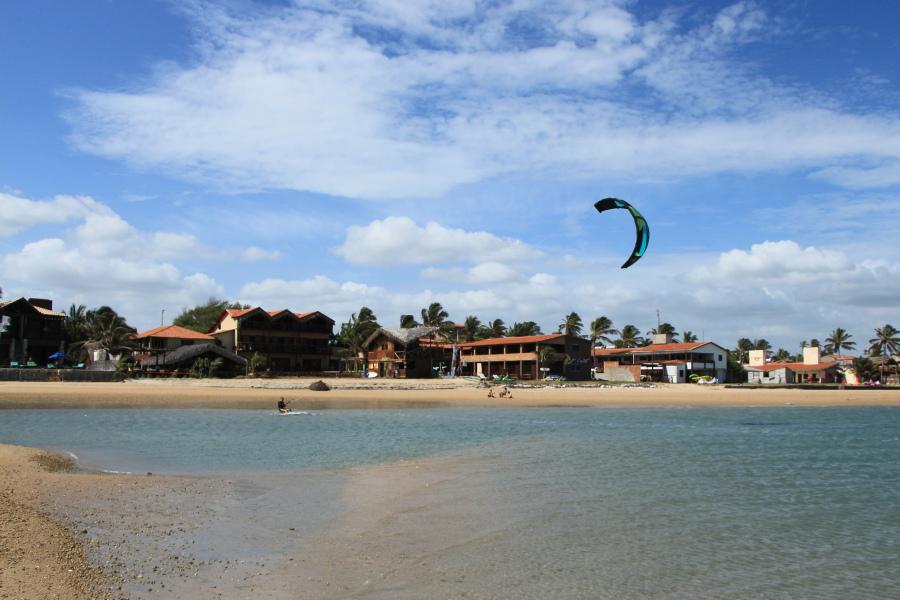 De reis naar Ilha Do Guajirú, Brazilië
