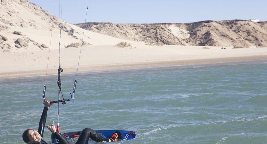Dakhla Attitude kitesurfer