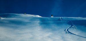 Snowkiten Noorwegen