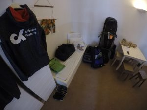 Bagage in appartement op kitevakantie