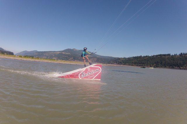 Hood River session kicker
