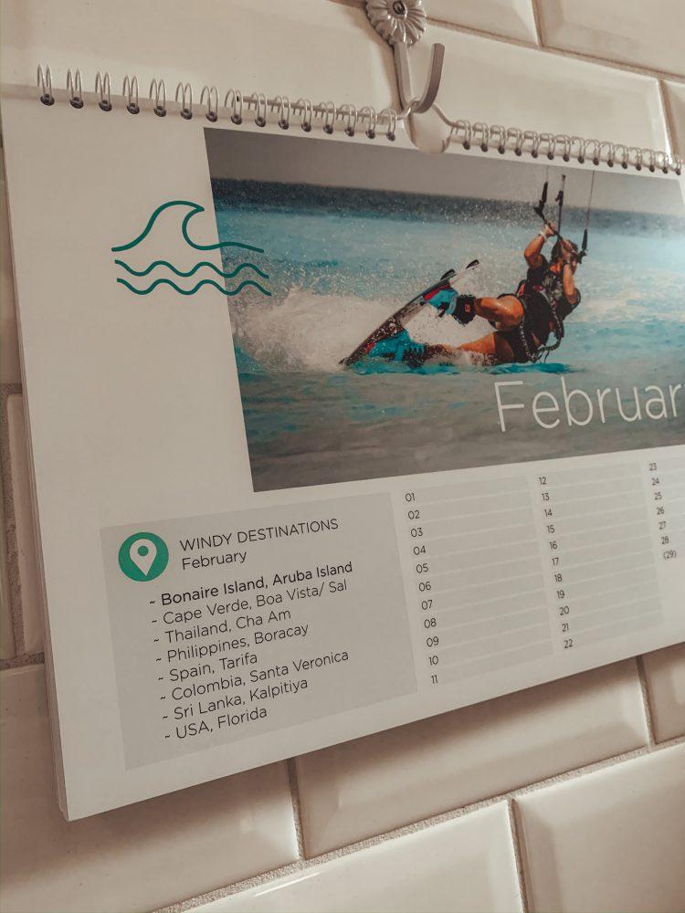 Wanneer Waar Kiten Kalender