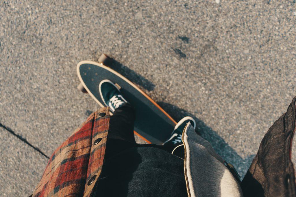Longboarden Tarifa