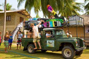 Foto Kitesurfing Lanka transport