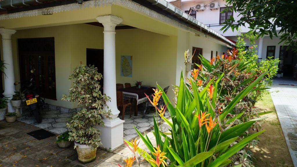 1st stop in sri lanka: Negombo villa rodrigo