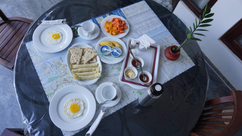 1st stop sri lanka ontbijt negombo