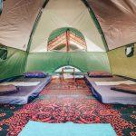 Foto Deluxe Tent binnenkant
