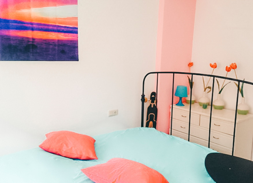 Foto Tarifa slaapkamer
