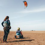 kitesurfles Essaouira lagoon kite huis