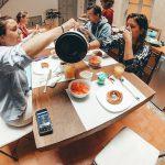Ontbijt inclusief bij het kite huis in Essaouira