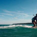 mainspot voor het domein kitesurf strand frankrijk
