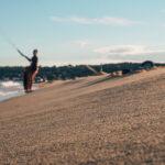 Kitesurf strand Frankrijk