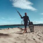 La Franqui kitesurf strand