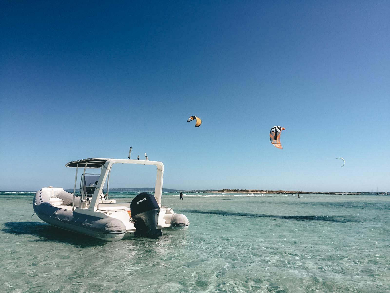 kitesurf reis