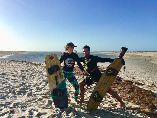 Kitesurf trip Brazilië Juul en Rem