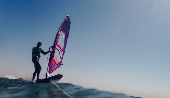 windsurfer speedspot Dakhla