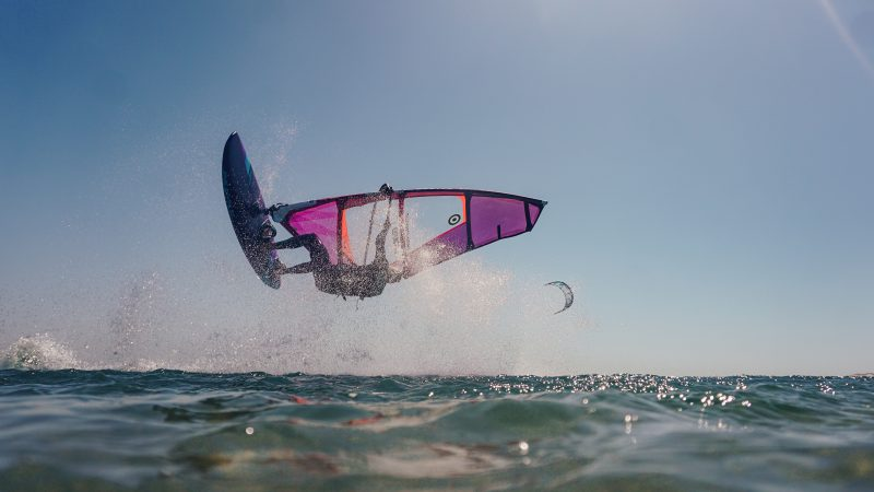Windsurfen in Dakhla, rider Andy