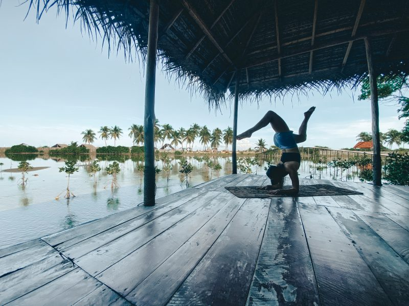 kitesurfen en werken in sri lanka yoga