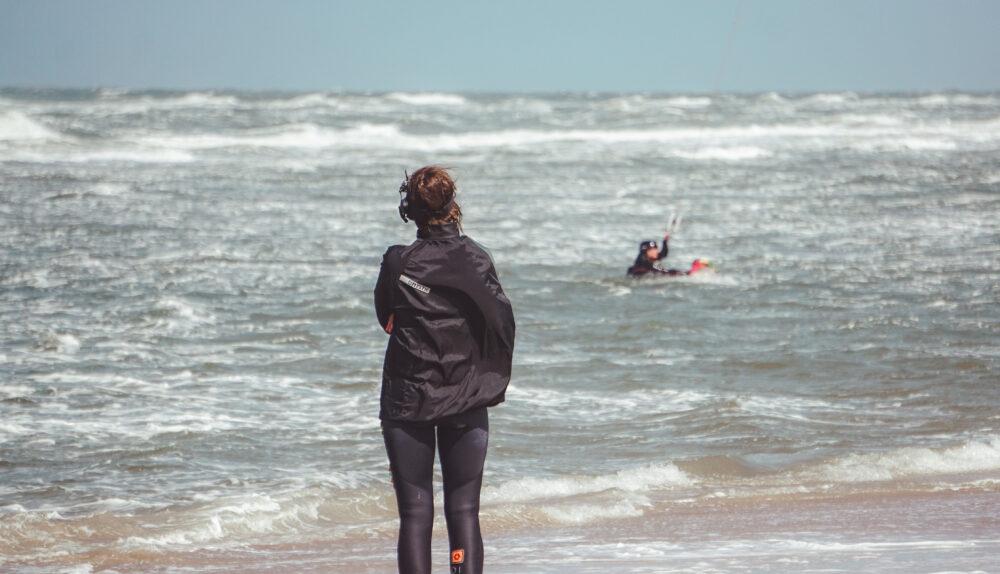 gevorderden kitesurflessen en kite coaching