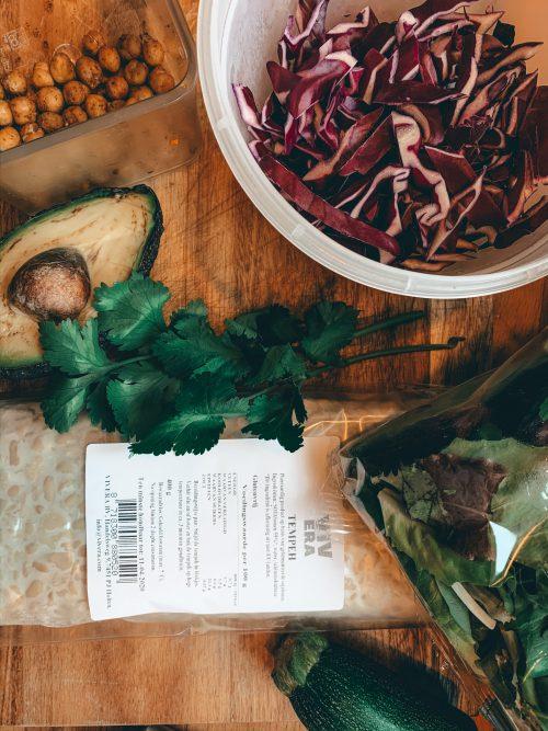 salade koken met kiters
