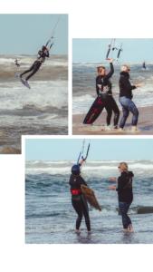 Informatie over kitesufen - kitesurf cursusInformatie over kitesufen - kitesurf coaching