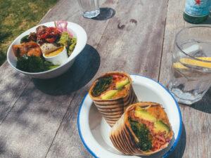 Wrap en Bowl kitesurf foodies