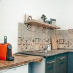 Studio guesthouse kitchen