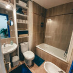 shared bathroom kitesurf guesthouse Tarifa